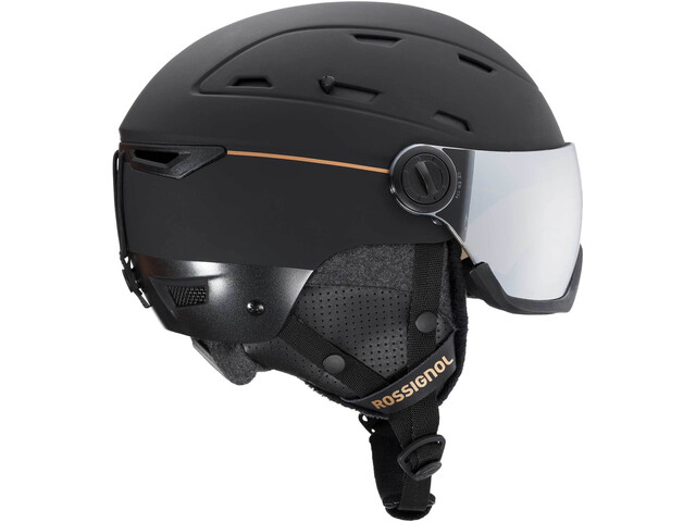 Rossignol Allspeed Visor Impacts Casque Femme, black
